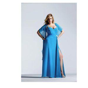 """""""HOST PICK"""" FAVIANA BEAUTIFUL BLUE DRESS  Size 14W"""